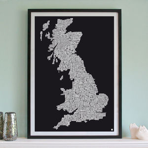 Great Britain Football Club Screen Print - view all father's day gifts