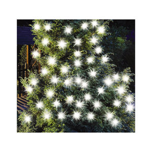 50 LED Solar Extra Bright White String Lights - christmas lights