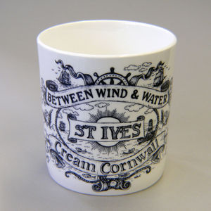 Bone China St.Ives Mug
