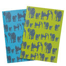 Elephant Family Recycled Notebooks