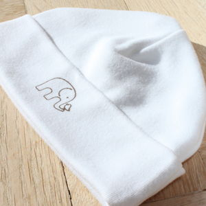 Organic Newborn Beanie - baby & child