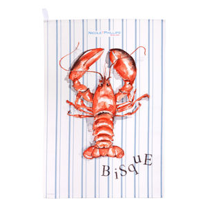Lobster Bisque Tea Towel - kitchen accessories