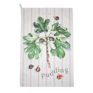 Figgy Pudding Tea Towel - kitchen