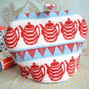 Knitted Teapots Tea Cosy