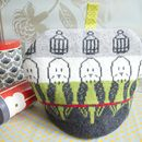 Knitted Budgie Tea Cosy