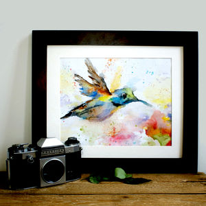Hummingbird Print - animals & wildlife