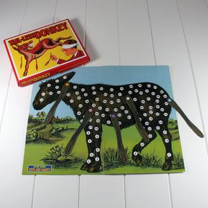 Pin The Tail On The Donkey - toys & games