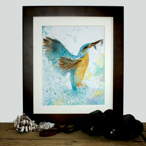 Kingfisher Print - contemporary art