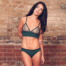 Emily Green Soft Bamboo Bra And Brief Set