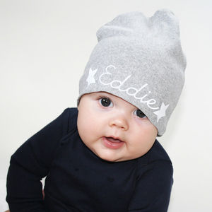 Personalised Baby Hat - hats, scarves & gloves