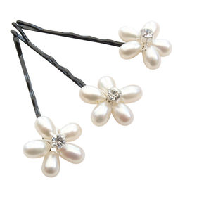 Flo Pearl Hair Pins - head pieces