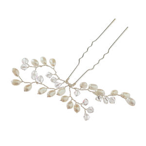 Bud Pearl Bridal Hair Pin - hats, hairpieces & hair clips
