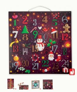 Puzzle Piece Advent Calendar