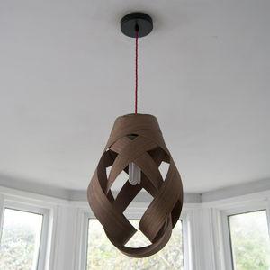 Random Wood Pendant Lampshade - ceiling lights