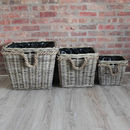 Set Of Square Baskets And Planters