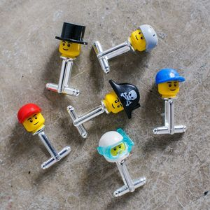 Mini Head Cufflinks - cufflinks