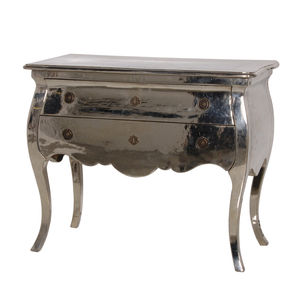Metal Finish Chest Of Drawers