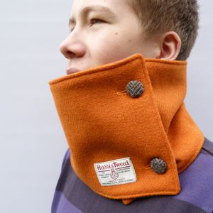 Harris Tweed Brights Neckwarmer