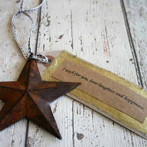 Wish Upon A Star Gift - wedding favours