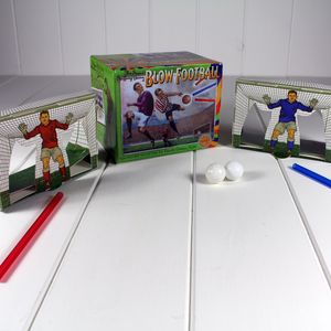 Blow Football Vintage Fun - interests & hobbies