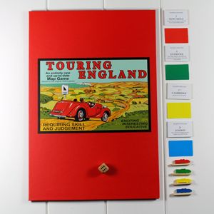 Touring England Board Game Vintage Fun - board games & puzzles