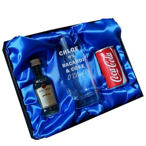 Bacardi O'clock Gift Set