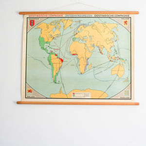 World Map, East India Compagnie