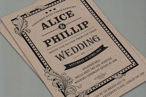 'Victoriana' Letterpress Wedding Stationery - styling your day