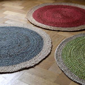 Colour Pop Jute Rug - rugs & doormats
