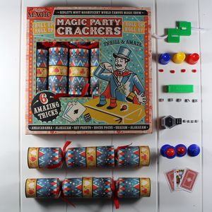 Magic Trick Party Crackers - last-minute christmas decorations