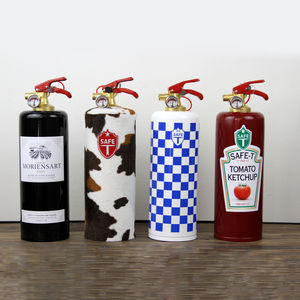 Designer Fire Extinguisher - fireplace accessories