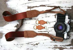 Personalised 'Willow' Buckled Camera Strap