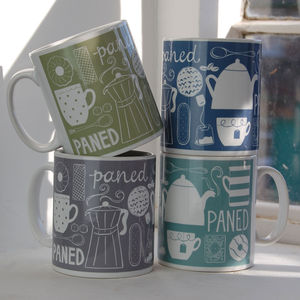 Welsh Paned Mug - mugs