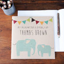 Personalised Elephant Notebook