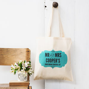 Personalised Honeymoon Gift Bag