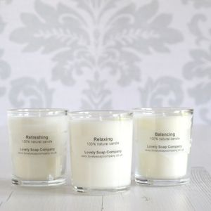 Essential Oil Candle - home accessories