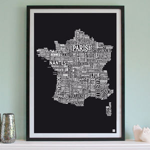 France Screen Print - posters & prints