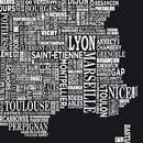 France Screen Print