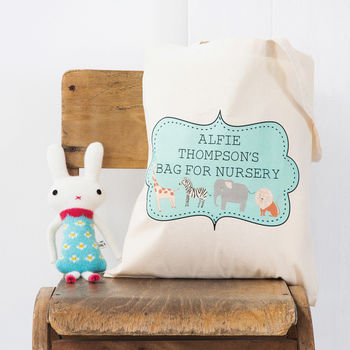 Personalised Nursery Tote Bag