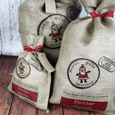 Personalised Christmas Present Sack - christmas decorations