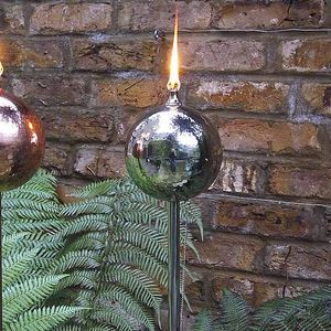 Steel Globe Oil Lamp - lights & lanterns