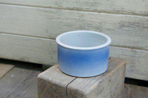 Handmade Pottery Dog Bowl - food, feeding & treats