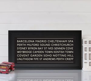 Personalised Memories Print - personalised