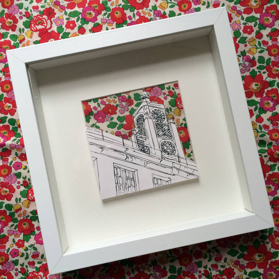Oxo Tower With Liberty Print