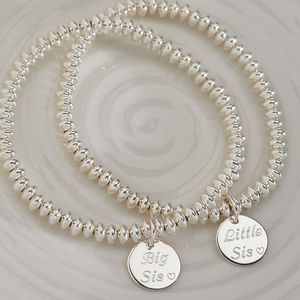 Personalised Your Message Silver Bracelet