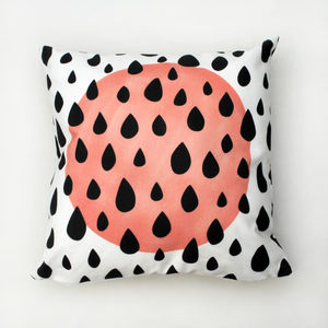 Sun And Raindrop Cushion - cushions