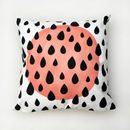Sun And Raindrop Cushion