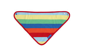 Organic Cotton Multi Stripe Dribble Bib
