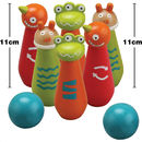 Wooden Bowling Skittle Set