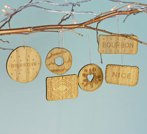 Bamboo Biscuit Decorations